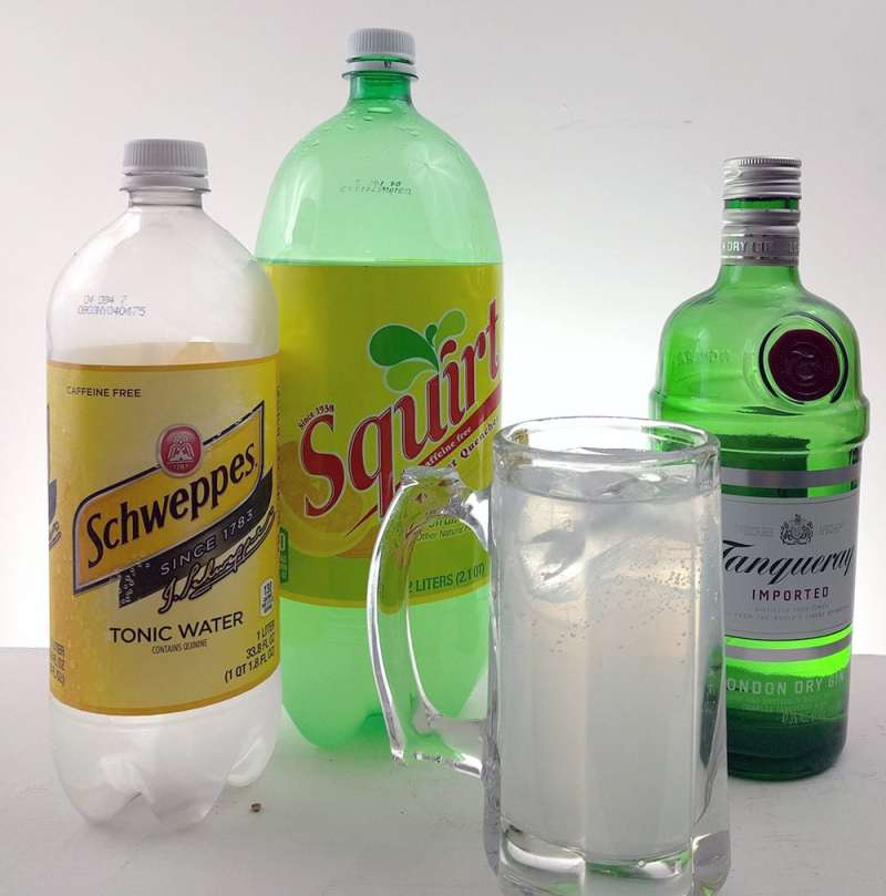 Finnish Long Drink with Squirt