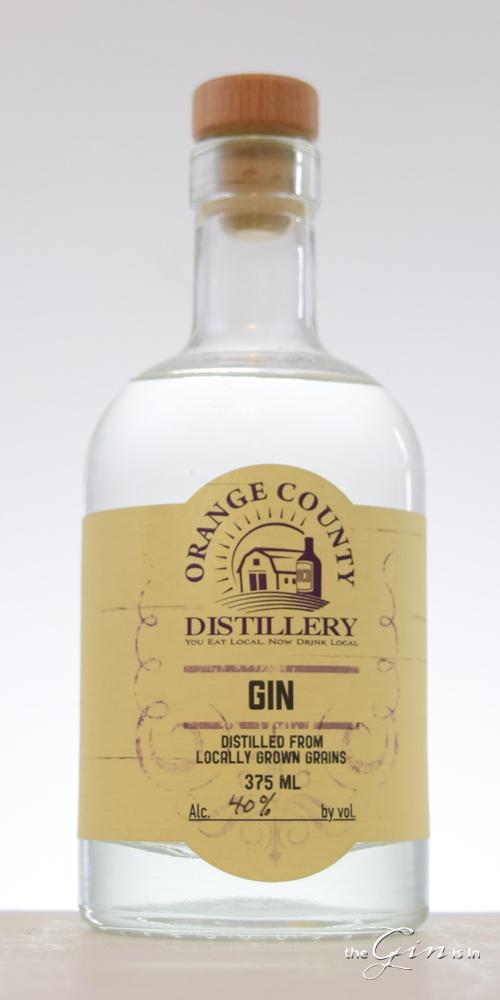 Orange County Distillery Gin