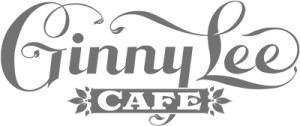 The Ginny Lee Logo - greyscale