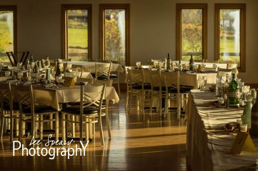 Reception settings – Photo credit Lee Speary Photography