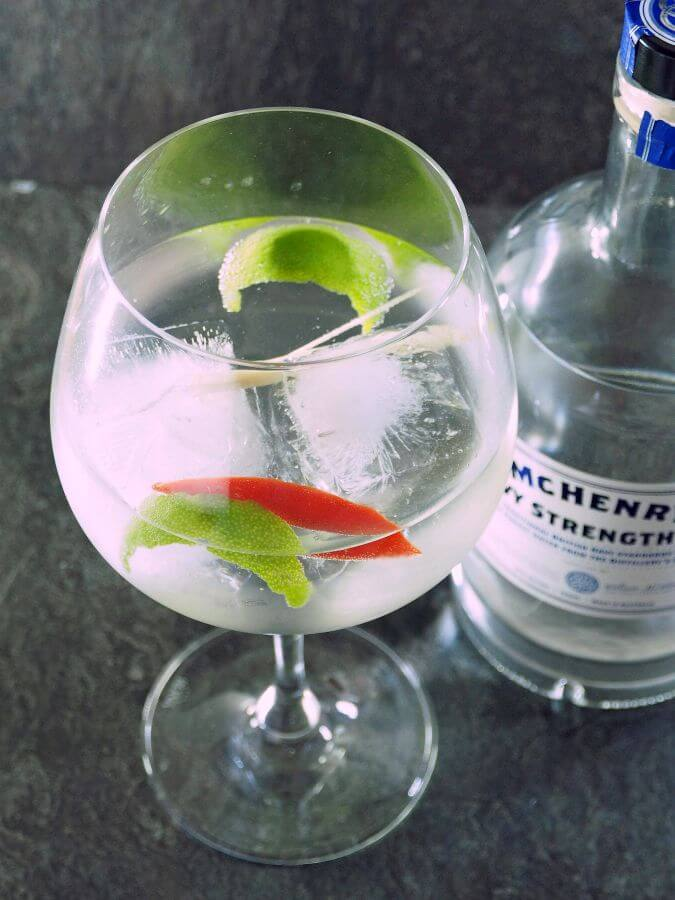 McHenry Navy Strength Gin and Tonic