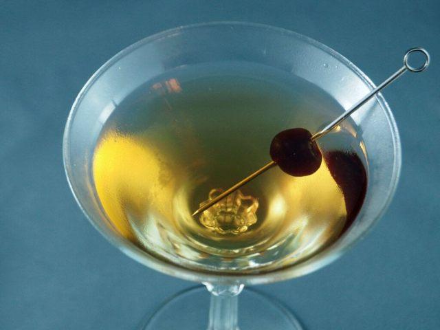 Boomerang martini