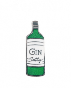 Tatty Devine Gilbert & George Gin Brooch