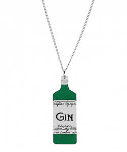 Tatty Devine Gilbert and George Gin Necklace