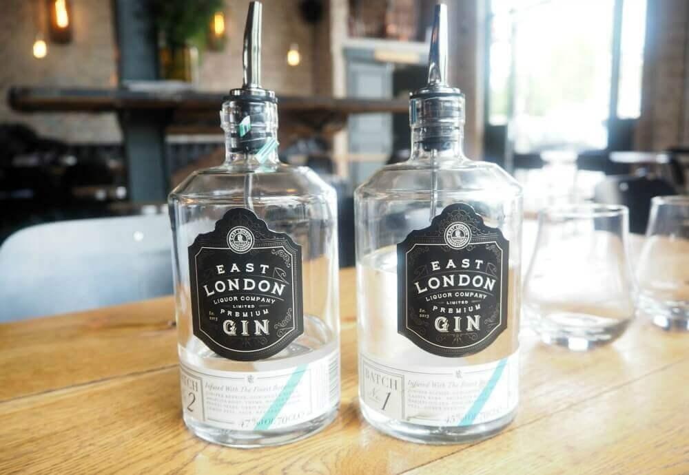East London Liquor Company Premium Gin