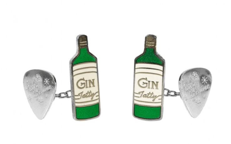 Tatty Devine Gilbert and George Gin Cufflinks
