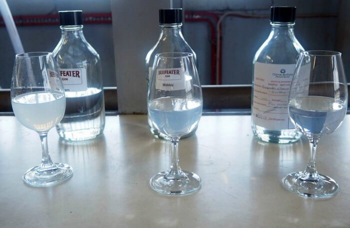 Variants of Beefeater gin