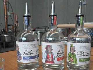 tiny bear distillery gins