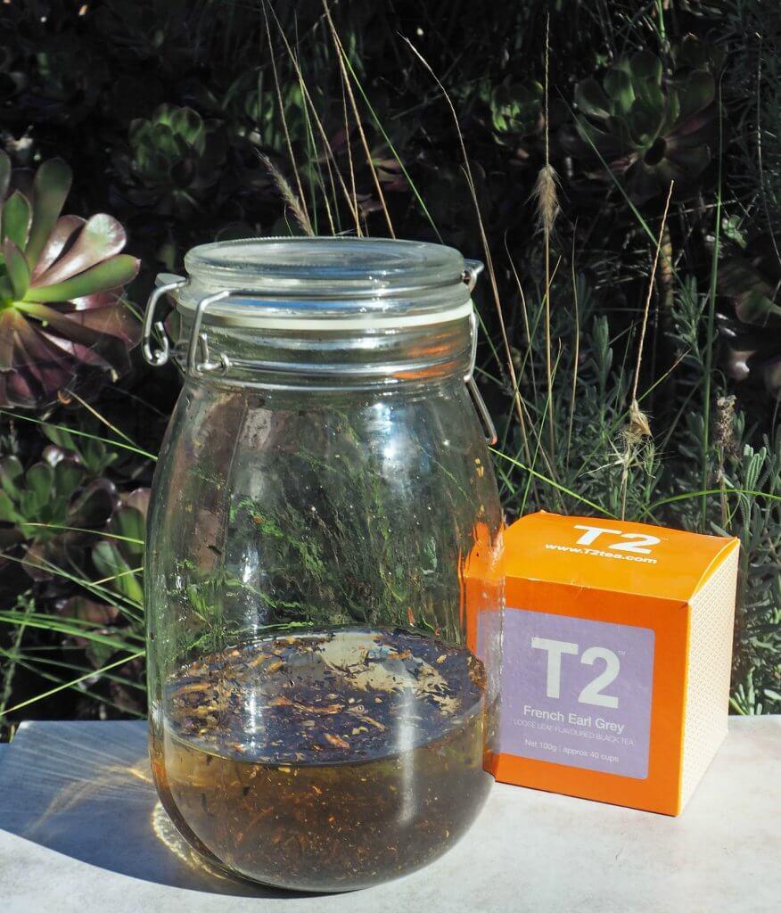 Earl Grey tea infused gin