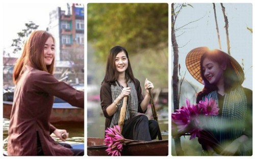 Hot girl Bùi Huyền Trang