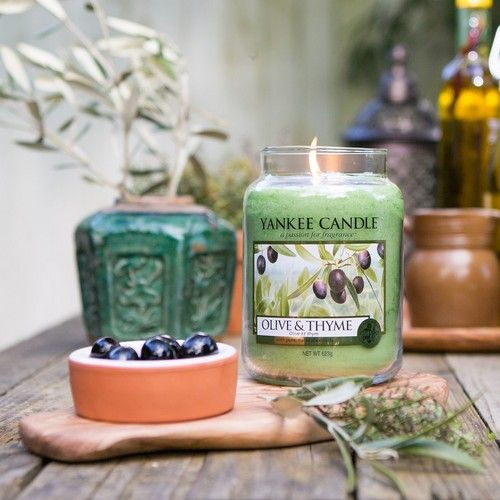 Olive & Thyme Yankee Candle