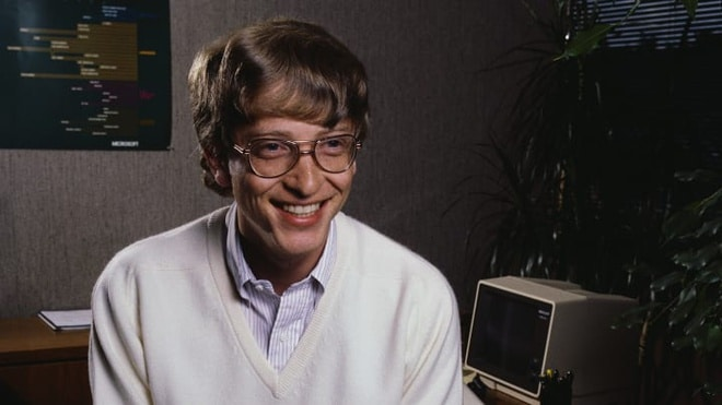 Bill Gates choi poker anh 1