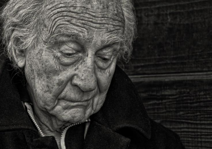 Sad Senior Man