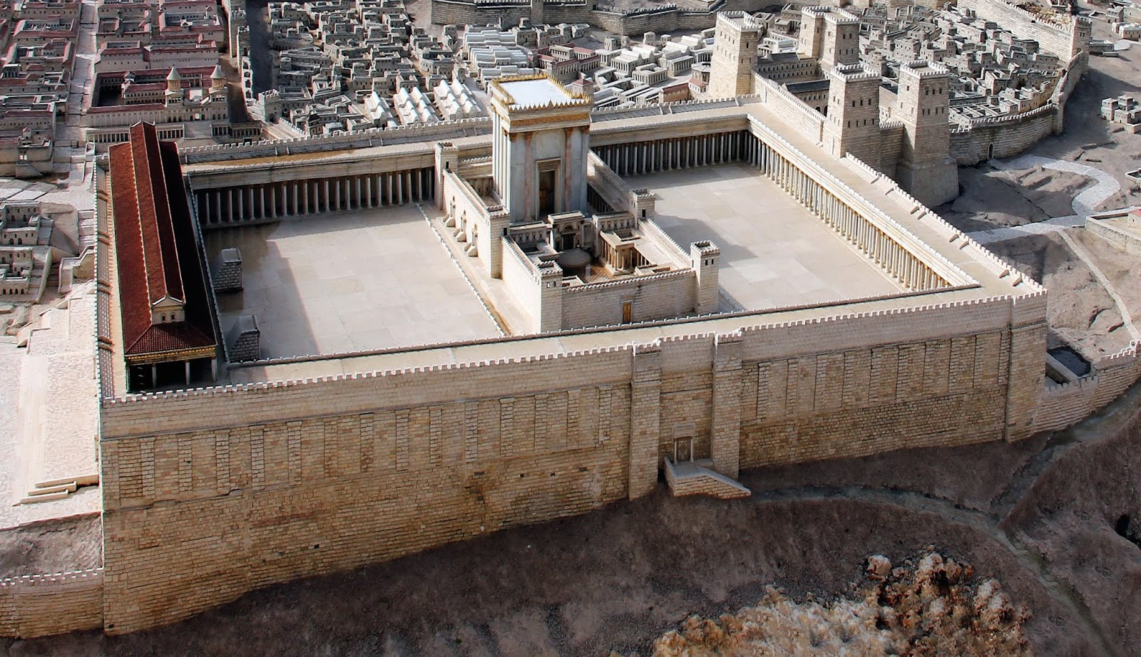 Jesus, the First Living Temple – The Girded Mind
