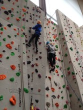 Senior Section rock climbing trip