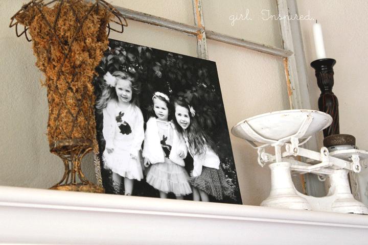 DIY Canvas Photos -easy!