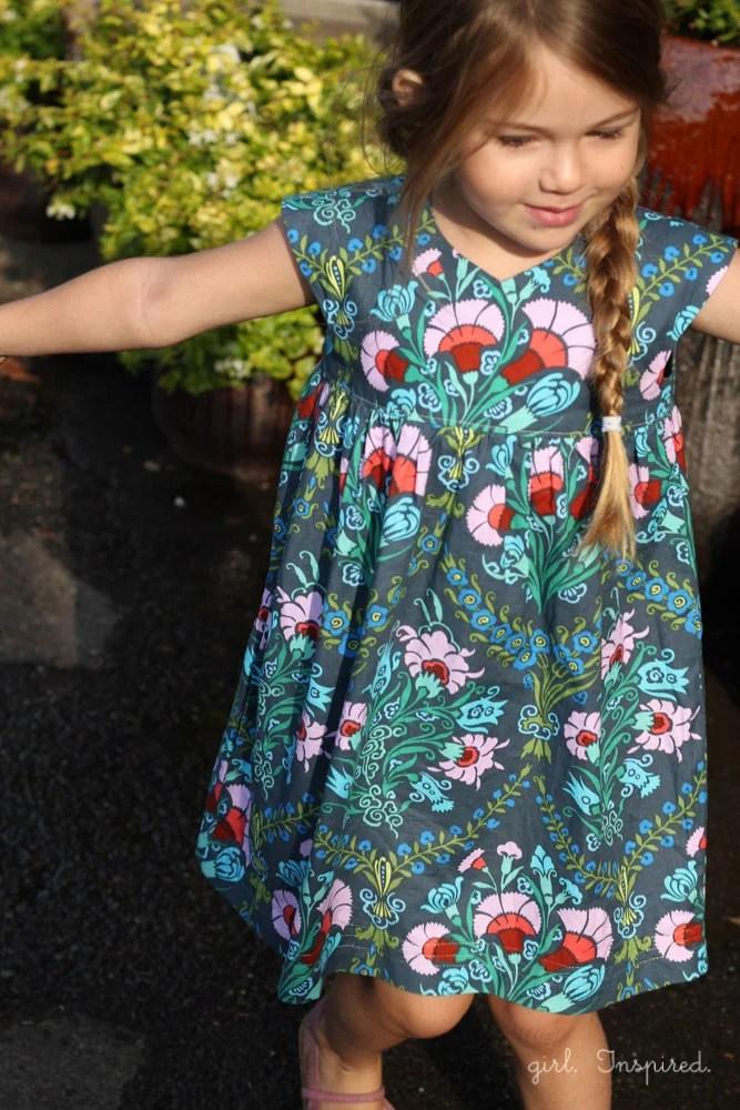 Geranium Dress Pattern Review