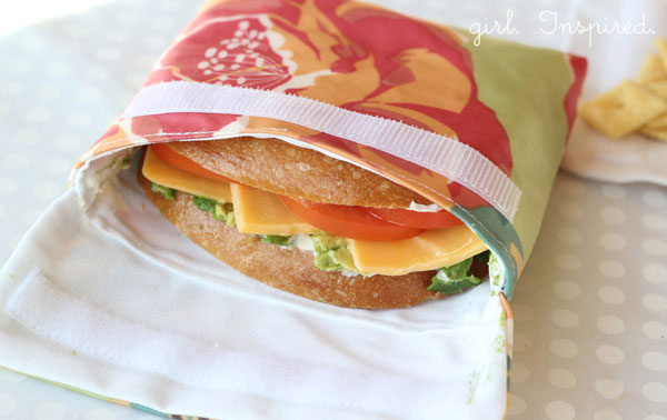 Reusable Snack Bags: Sewing Tutorial