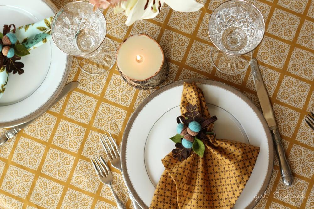 Dinner Napkins - easy to sew