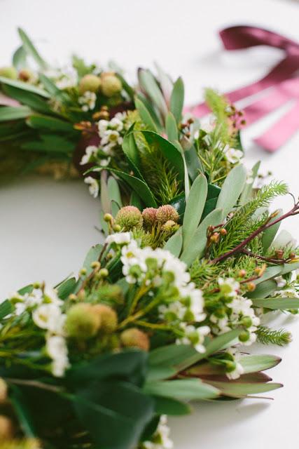 garden clippings wreath