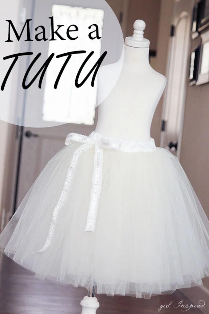 How to Make a Tutu like this white tutu with white ribbon