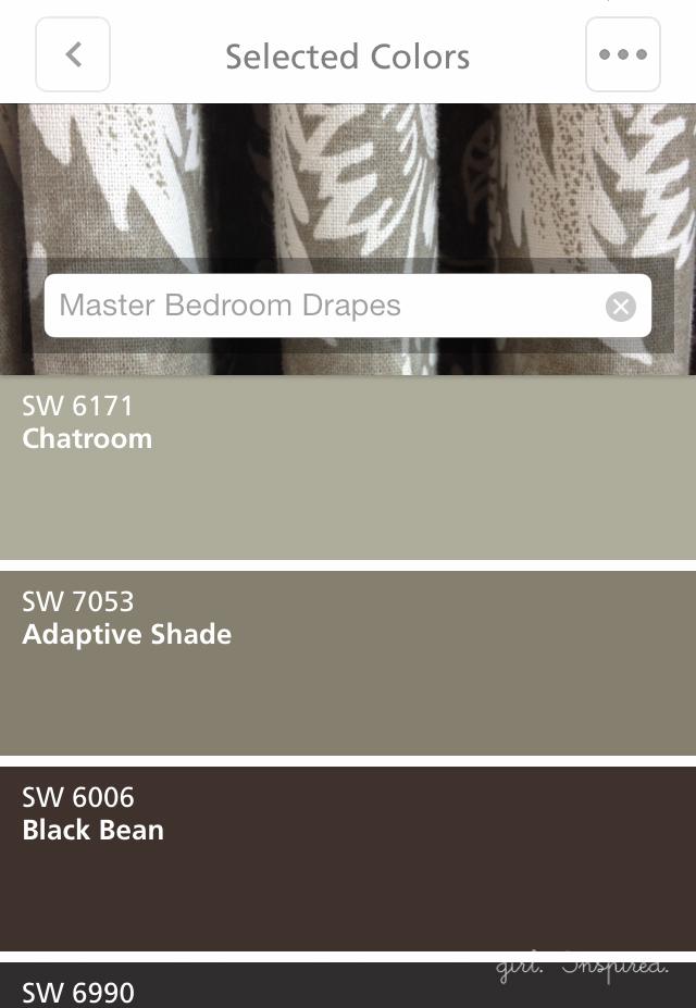 Sherwin-Williams Color Snap app