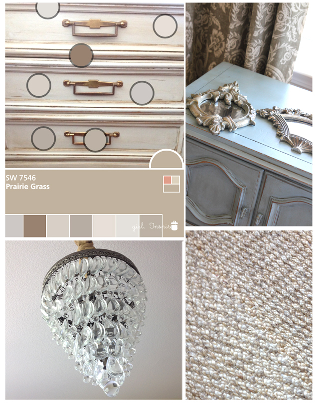Sherwin-Williams Color Snap app and Master Bedroom Makeover Inspiration
