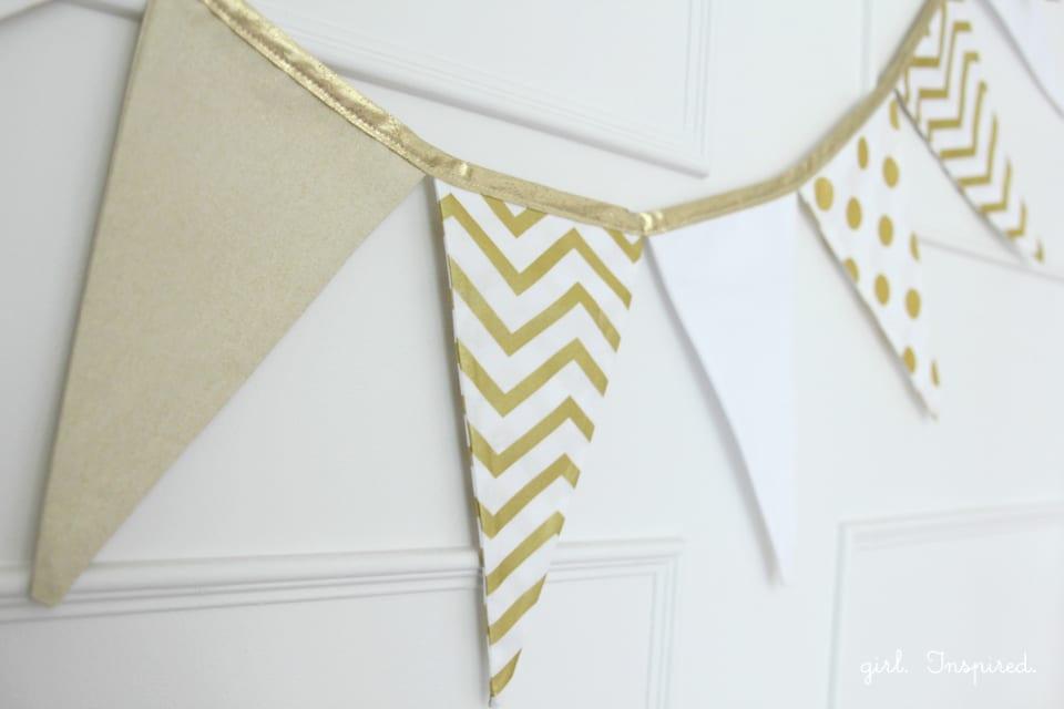 Fabric Pennant Banner Tutorial