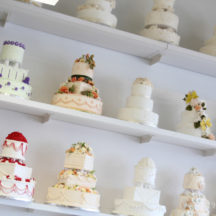 Beautiful Cakes at Wilton School of Cake Decorating