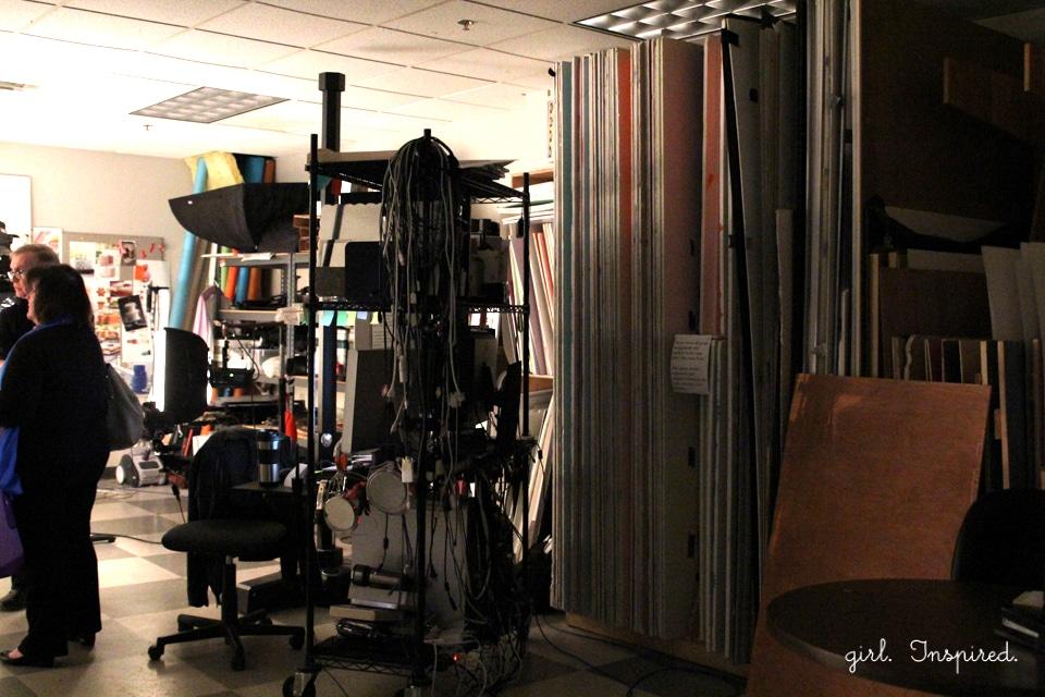 Behind the Scenes at Wilton Enterprises - photography studio!