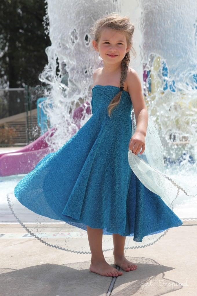 Elsa Dress for Frozen Birthday Party