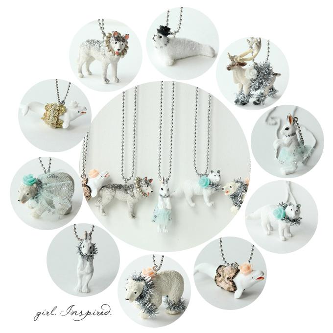 Frozen Party Favor Necklaces - DIY