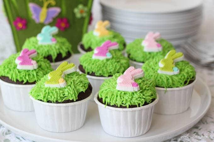 Easy Bunny Cupcakes