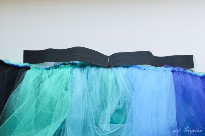Make this dramatic tutu for a simple, but stunning Peacock Costume!