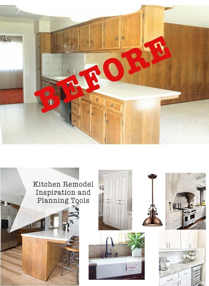 Tools and tips for Planning a Kitchen Remodel!  #homeimprovement #kitchen #PGE4ME #spon