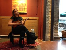 Live music at Starbucks