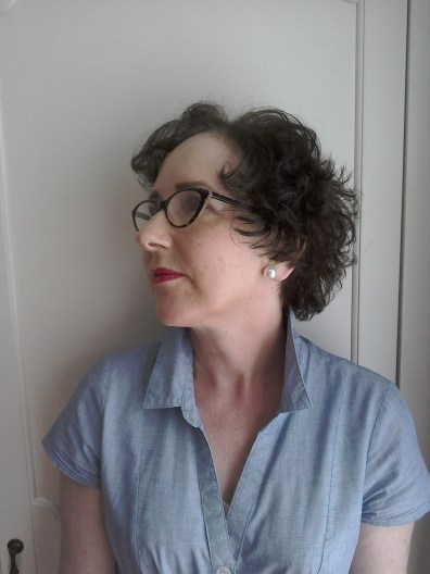Short Fifties hairstyle
