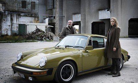 Saga & her classic Porsche