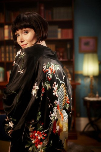 Miss Phryne Fisher Chinese Embroidered Dressing Gown The