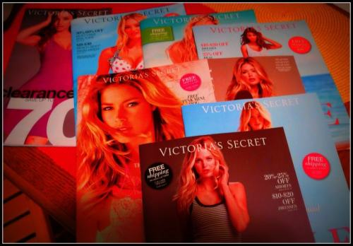 Stack of Victorias Secret Catalogs from Dead Trees and the End of My Affair with the Mailman on The Girl Next Door is Black