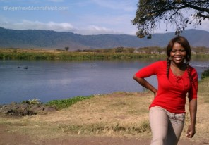 Keisha at Ngorogoro Crater Tanzania Safari | The Girl Next Door is Black