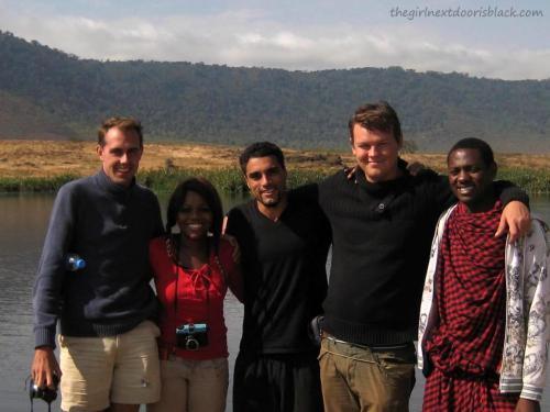 Group on Safari in Ngorogoro Crater Tanzania | The Girl Next Door is Black