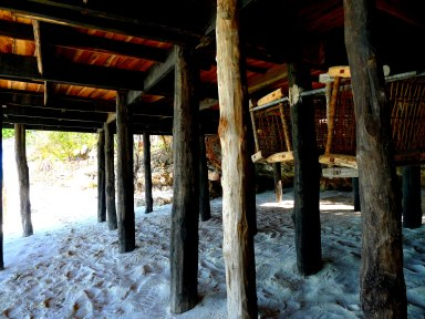Boardwalk pillars East Coast Nungwi Beach Zanzibar Tanzania | The Girl Next Door is Black