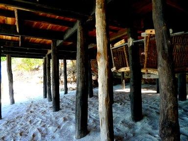 Boardwalk pillars East Coast Nungwi Beach Zanzibar Tanzania | The Girl Next Door is Black