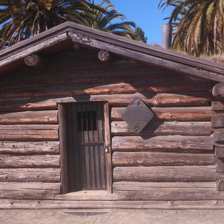Jack London Log Cabin