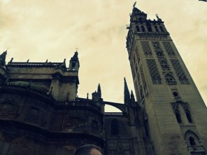 Seville Cathedral, where Columbus tomb is housed.