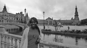 Me at Plaza de Espana