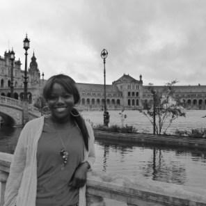 Me at Plaza de Espana