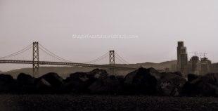 Bay Bridge from Treasure Island Music Festival 2014 | The Girl Next Door is Black