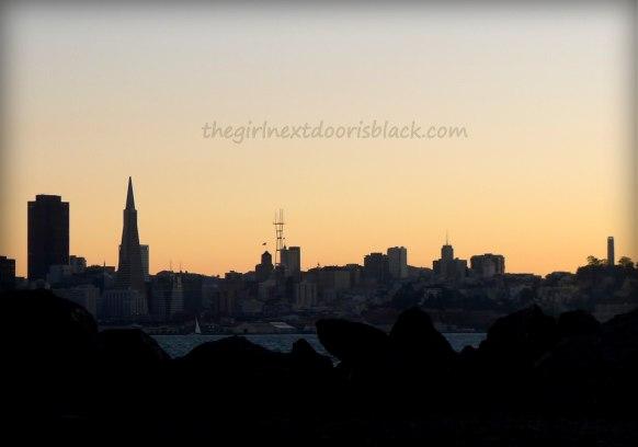 San Francisco Skyline Treasure Island Music Festival 2014   The Girl Next Door is Black